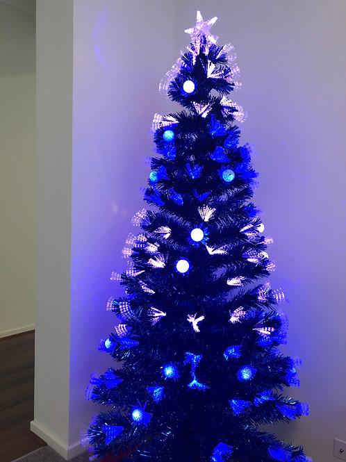 Xmas tree with LED lights