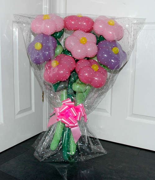 Special Gift Flower Balloon Bouquet