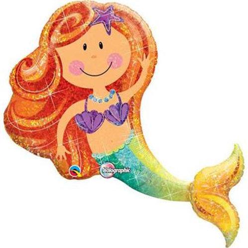Merry Mermaid Foil shape 97cm