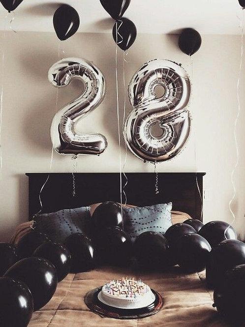 Birthday Surprise Bedroom Decoration #2