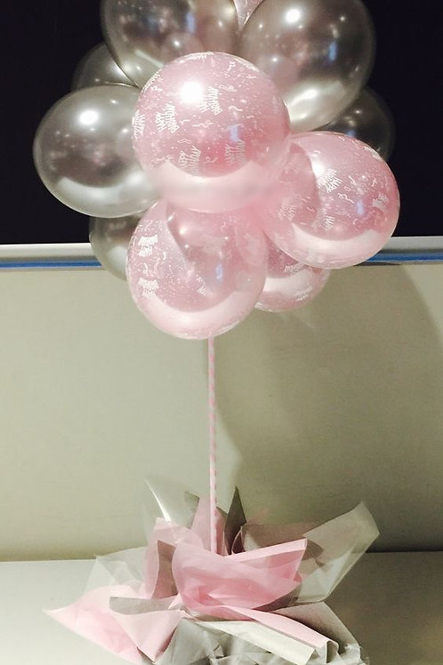 Table Centrepiece (12mini Balloons)