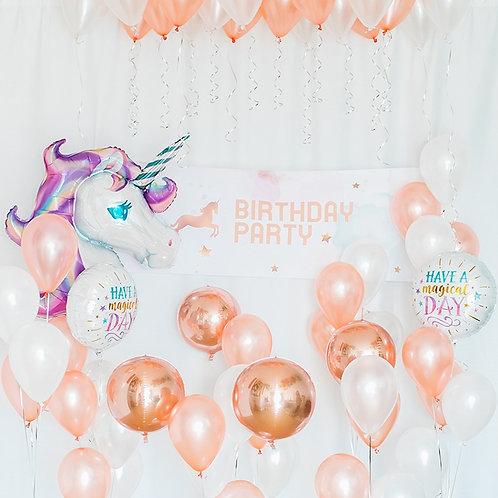 Unicorn Dreamland Balloon Party set