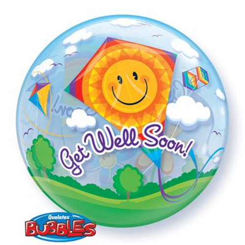 Get Well Soon Kites Bubble 55cm