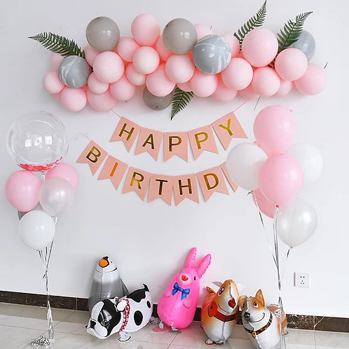 Lovely Pink Balloon Party Set