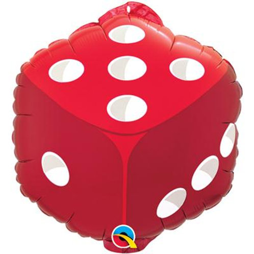 Qualatex Balloons Dice Square Shape 45cm