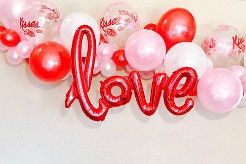 Love Balloon decoration Garland