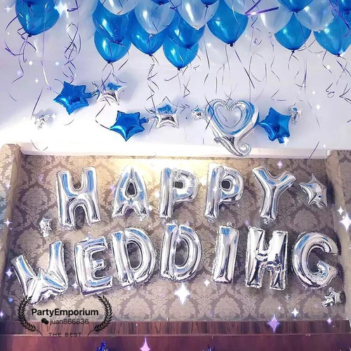 Melbourne party emporium balloons party supplies costumes happy wedding balloon decoration package junglespirit Choice Image