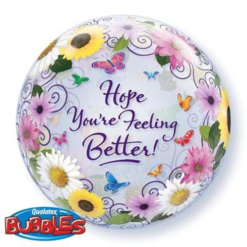 Hope You're Feeling Better Bubble 55cm