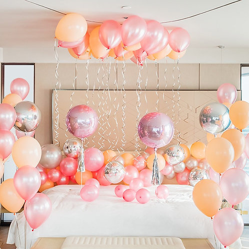 Sweet Love Bedroom Balloon Decoration Set