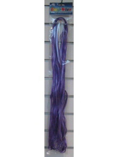 Pre Cut Ribbon with Clips 25pk Purple