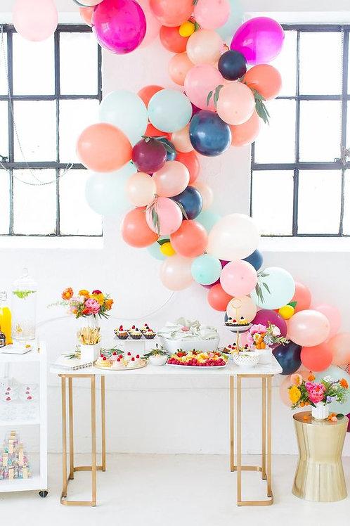 Balloon Garland With Flower