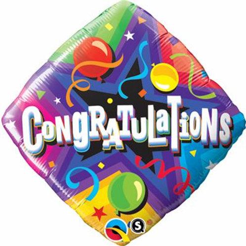Qualatex Balloons Congratulation Party Shop 45cm