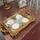 Thumbnail: Rose Gold Sequins tablecloths Hire