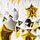 Thumbnail: Shine Gold Birthday Balloon Set