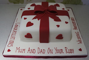 Ruby Wedding Cake for Mum and Dad.jpg