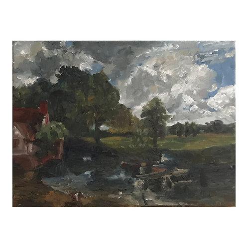 My Haywain - Oil on Canvas