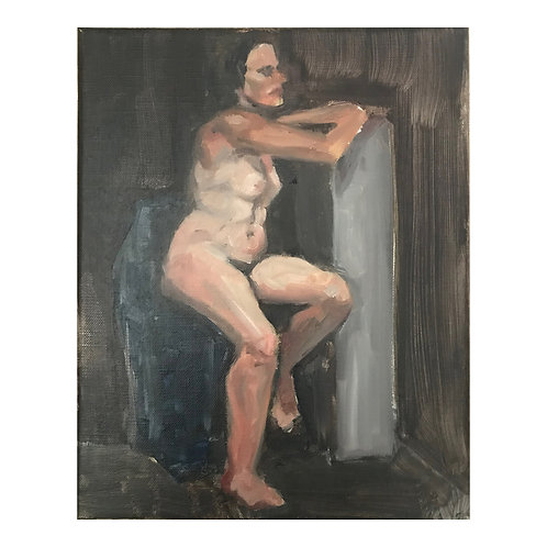 Life Study 1  - Oil on Canvas