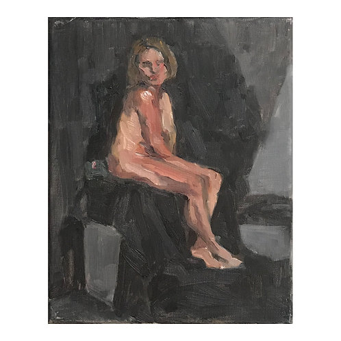 Life Study 4  - Oil on Canvas