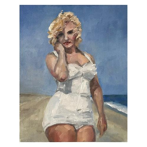 Beach Marilyn