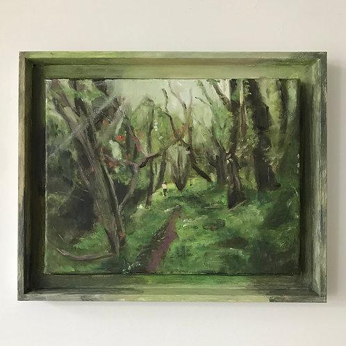 Isolation Separation - Isolation Walks - Oil on Canvas