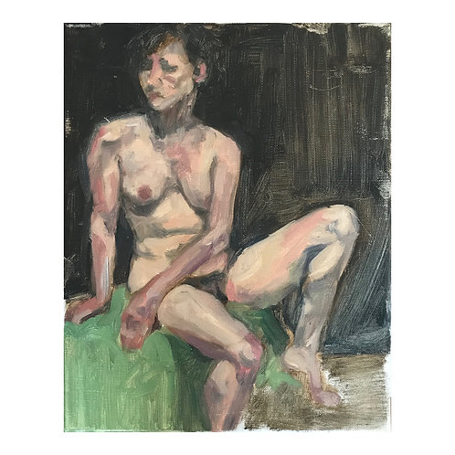 Life Study 3  - Oil on Canvas