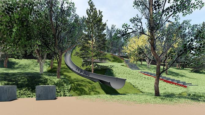 Imagen del modelado BIM del Parc de Begues