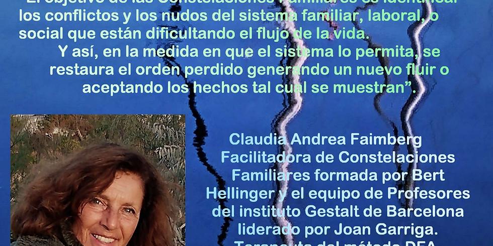 Taller de constelaciones familiares con Claudia Andrea Faimberg