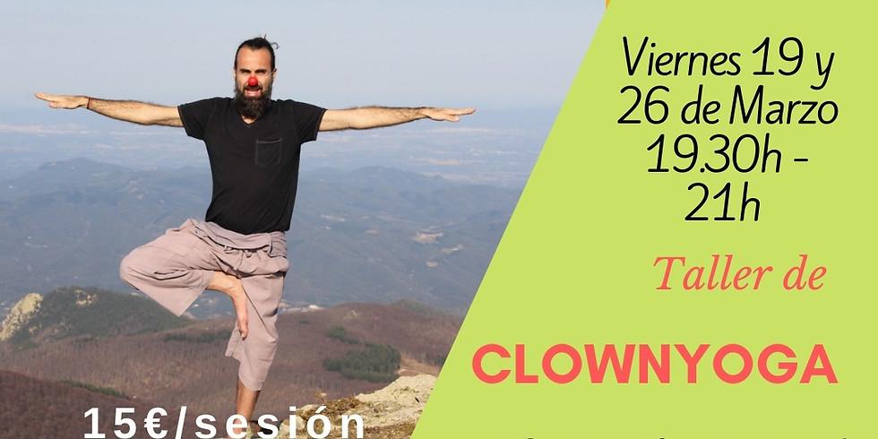 Talleres de ClownYoga: transformación personal a través del yoga, la gestalt y el clown con Jaime Xicola