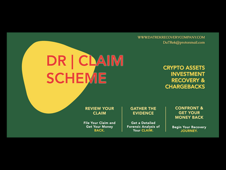 CRYPTO - ASSETS INVESTMENT RECOVERY SCHEME - DR | CLAIM SCHEME