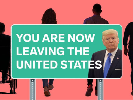 Yes, some Americans really did leave the country because of Trump.