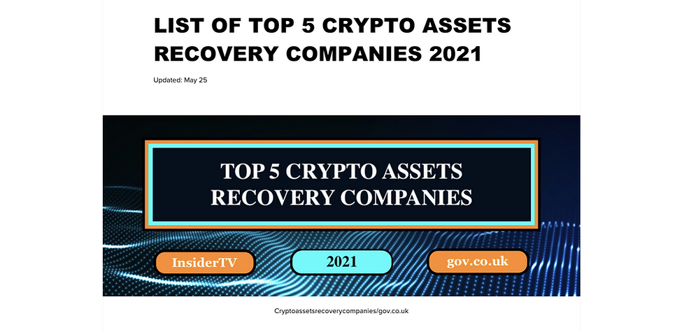 cryptoassetsrecoverycompanies/gov.co.uk