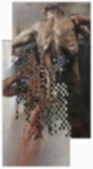 Araújo Santoyo | pintura | figura humana | tejidos