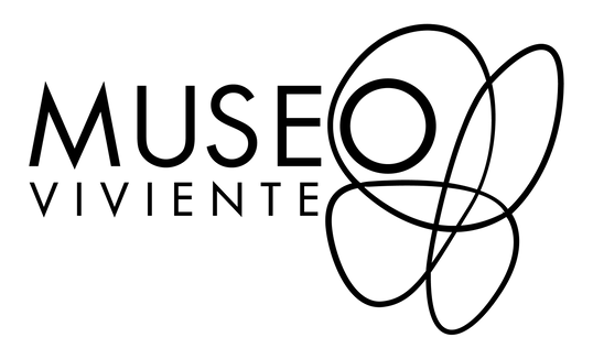 Logo Museo Viviente - Blanco y Negro - 4