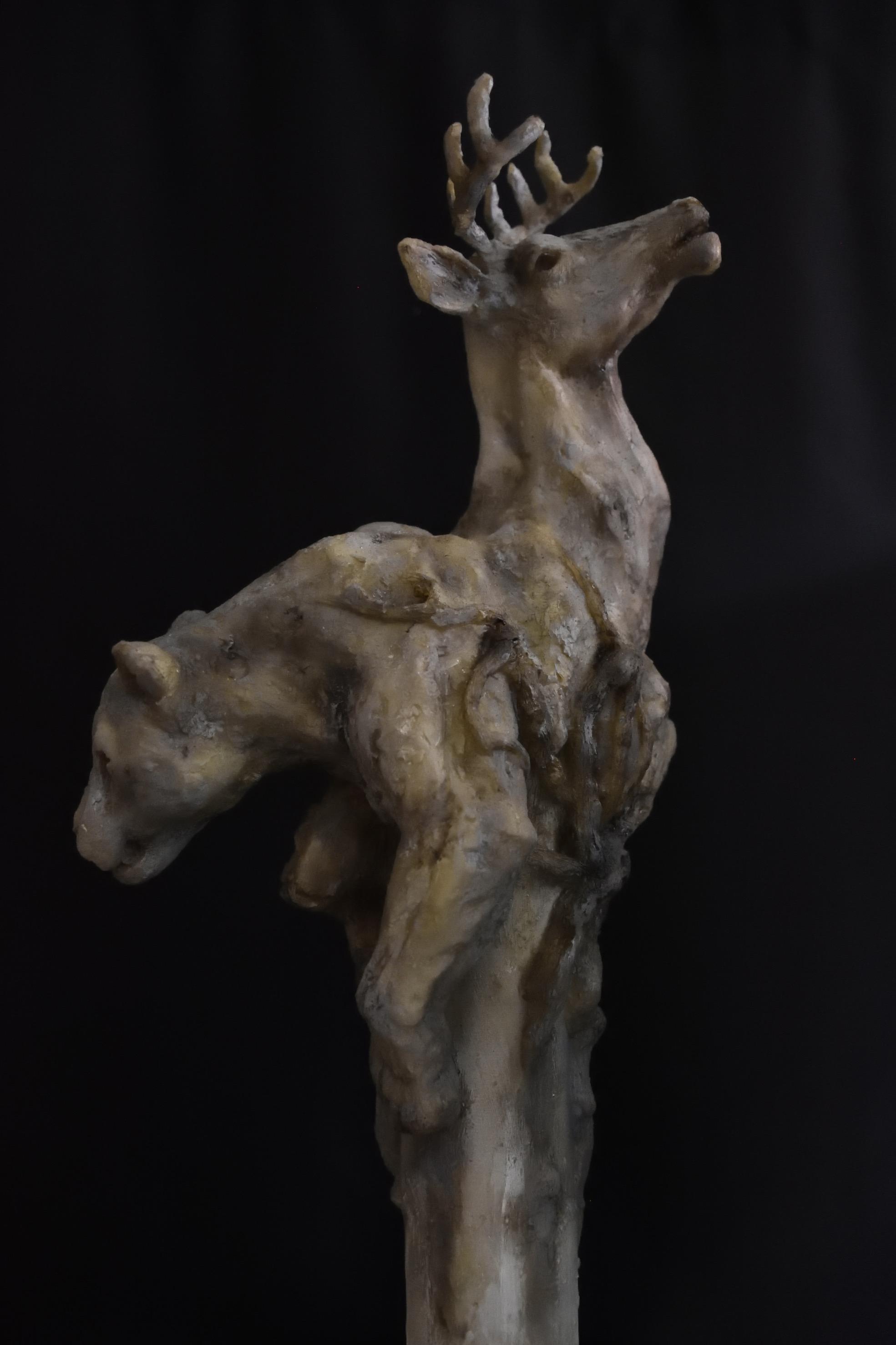 Escultura resina -  50 cm altura (2)
