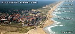 Les plages de Lacanau Océan