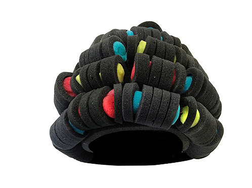 Sombrero: Peluca con Rulos