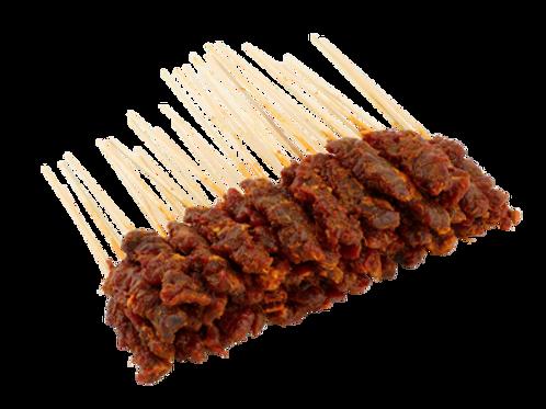 Raw Mutton Satay (50 sticks) + Gravy