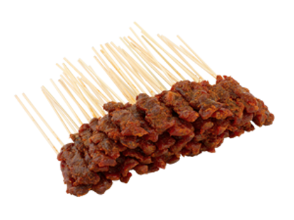 Raw Beef Satay (50 sticks) + Gravy