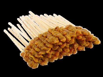 Raw Chicken Satay (50 sticks) + Gravy