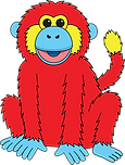Red Monkey 3 transparent.png
