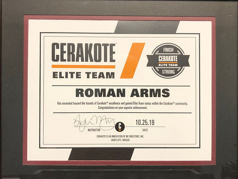 Elite Team | Cerakote