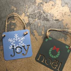 Christmas | Ornament | Charcoal Green |