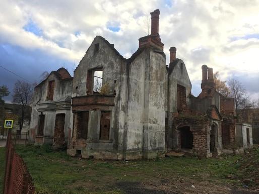 Усадьба Крекшино под угрозой исчезновения.