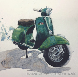FLORENCE VERDE  | Watercolor | Archival Paper
