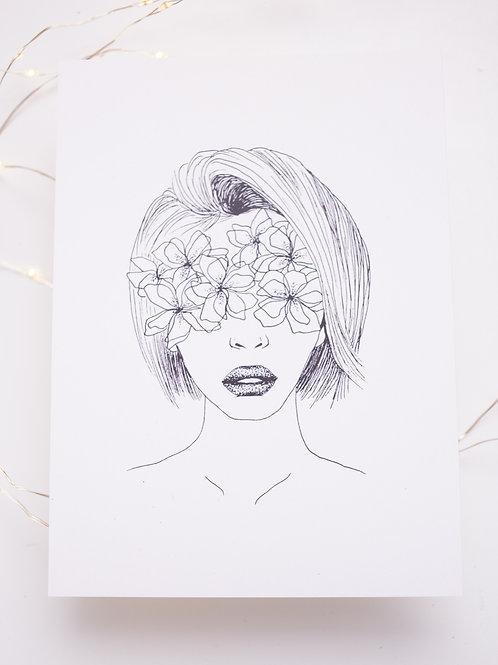 Bandeau de fleurs  - illustration