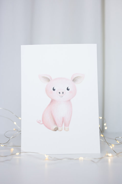 illustration Cochon
