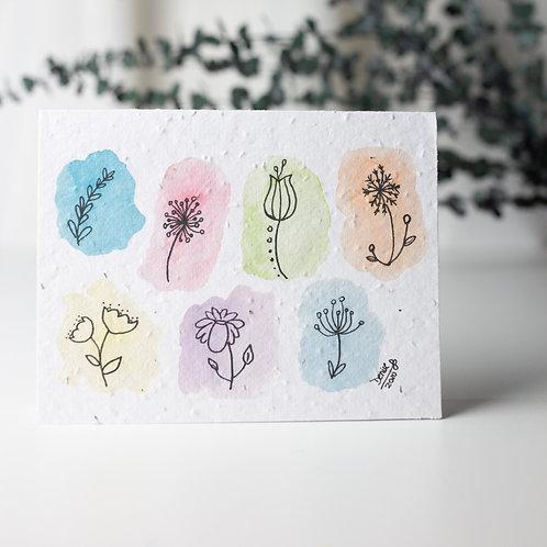 Fleurs - Cartes