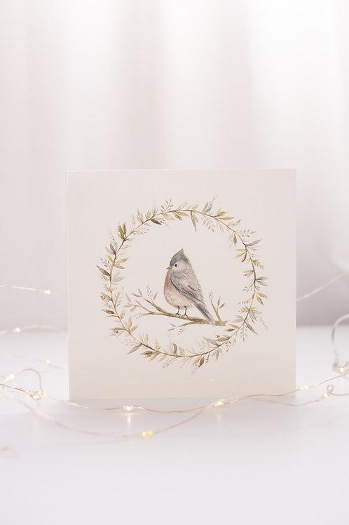 Oiseau - Carte