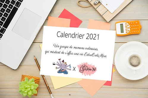 Calendrier 2021 - ExtraOrdiMère x Kréa-Trix