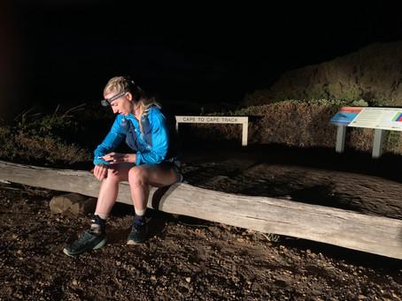 Cape to Cape FKT Report - Claire O'Brien Smith